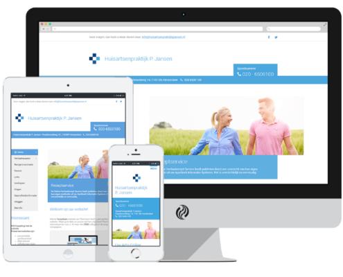 Huisartsen-webdesign