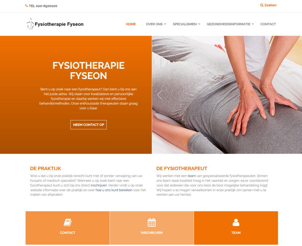 De pilot met ons nieuwe website platform is succesvol afgerond. De eerste fysiotherapeuten maken er nu naar tevredenheid gebruik van.