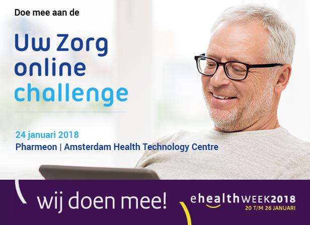 Uw Zorg online Challenge - eHealthweek 2018