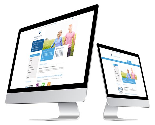 Professionele complete website