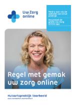 Folder Uw Zorg online